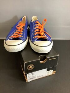 Converse All Star Dazzling Blue Low Top Sneakers Canvas shoes M8 W10 UVA
