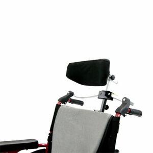 "NEW Karman Foldable Rigidfy Wheelchair Headrest for 7/8"" handles HR-FLD-115"