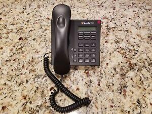 SHORETEL IP110 VOIP Phone IP 110 Black Display Phone LCD Black S0