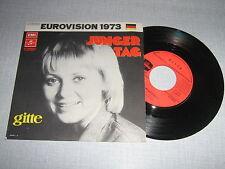 EUROVISION 1973 45 TOURS FRANCE GITTE .(2)