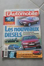 L'automobile - N°634 Avr 99 - Mégane Break C6 Lignage 406 BMW 320d 306 Ferrari
