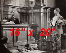 "WC Fields~Judge~Courtroom~Attorney~Photo~Poster~16"" x 20"""