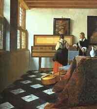 Jan Vermeer 2 A4 Print