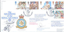 1994 Christmas RAF FDC signed CO 78 SEA KING / CHINOOK Sqn PROWSE