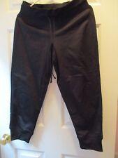 Champion Women's Black Fleece Exercise Sweat Capri Pants Size: Medium