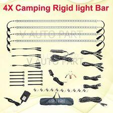 4X 50cm Bar12V 240V Rigid Linkable LED Camping Kit bag Camper Boat Strip Light