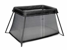 Baby Bjorn Travel Cot Light - Black Mesh