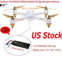 Hubsan H501S H501A H501C RC Quadcopter 7.4V 2700mAh Lipo Battery H501S-14