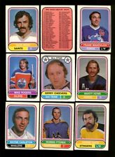1975 O-PEE-CHEE WHA HOCKEY PARTIAL SET 120/132 NMMT *98517