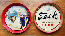New listing 2 Pennsylvania Beer Tray Lot: Valley Forge Beer & Tech Golden Pilsner