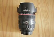 Used - *Great Condition* Canon EF 24-70mm f/4 L IS USM lens w/ EW-83L lens hood