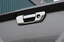 MANIGLIA PORTA POSTERIORE Chrome Portellone Trim copertina per adattarsi Nissan Navara NP300 (2015+)