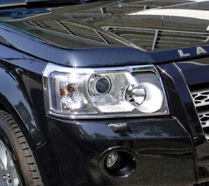 IDFR Land Rover Freelander 2 2006~2010 Chrome frame bezel for head lights