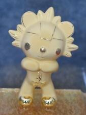 RARE BEJING 2008 OLYMPICS OFFICIAL LICENSED COPPER GOLD PLATED FUWA MASCOT W BOX