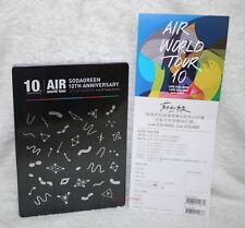 Sodagreen Air World Tour 10 Taiwan CD+Live Blu-ray(BD)+Bonus DVD (Preorder Ver)