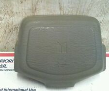 90 ISUZU TROOPER STEERING WHEEL  HORN PAD ONLY  IN GRAY OEM