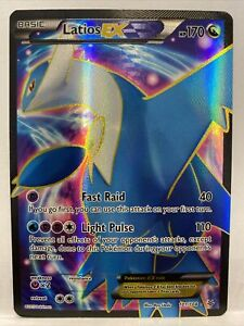 Latios EX 101/108 - Full Art Ultra Rare - XY Roaring Skies Pokemon Card MINT