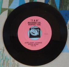 Eddie Bond 45 Juke Joint Johnnie / Winners Circle 1973 Rockabilly M-