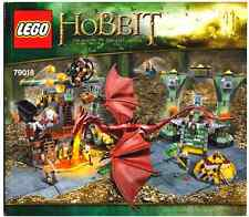 Lego Instruction Manuel only for Set 79018 The Lonely Mountain Book *NO SET*