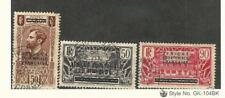 French Equatorial Africa, Postage Stamp, #7, 20, 22 Used, 1936