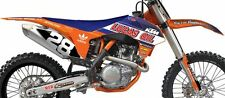 KTM SX SXF 125 250 350 450 13 14 15 Lucas Oil Troy Lee Team replica graphic kit