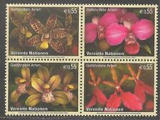 United Nations - Vienna #379a Vf Mnh - 2005 55c Orchids - Endangered Species