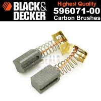 Black & Decker CD115 CD110 CD105 Carbon Brushes for Angle Grinders 596071-00