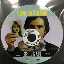Love On The Run ex-rental region 4 DVD (1979 French movie) DISC ONLY, NO COVER