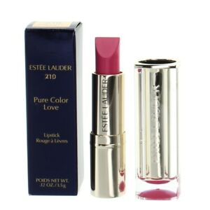 Estee Lauder Pink Lipstick Pure Colour Love 210 Naughty Nice - NEW