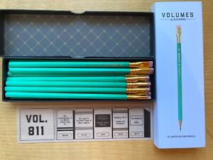 One Dozen New Blackwing Volumes 811 Pencils Glow in the Dark Edition +one Eras