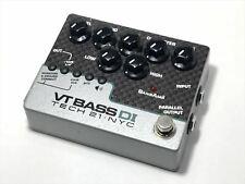 Used VT Bass DI tech21 sansamp bass amp simulator DI box F/S from Japan