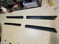 1990-1994  AUDI OEM Lower Door Molding Trim Set -4 pcs Set w/ Alumn. body mounts