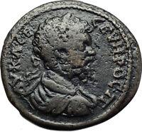 SEPTIMIUS SEVERUS 193AD Nicopolis ad Istrum Ancient Roman Coin w TYCHE i70773