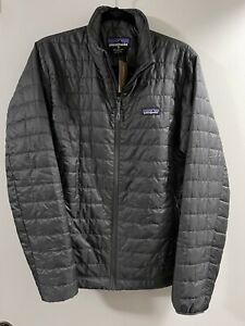 Men's Patagonia Nano Puff Jacket-Sz Medium-Forge Grey-New with Tags-MSRP $199