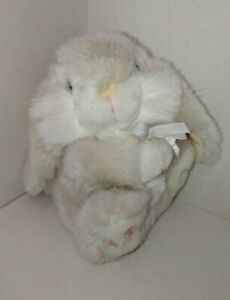 Keel Toy Company. Simply Soft Collection. Patchfoot Bunny Rabbit Original 1990s