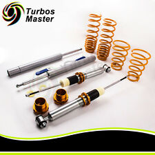 Fit BMW E34 5 series Sedan Coilovers Kit Adjustable Suspension Lowering