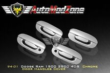 94-01 Dodge RAM Triple Chrome 4 Door Handle Cover w/ PSG Keyhole