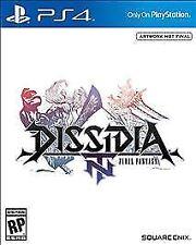 Dissidia Final Fantasy NT (Sony PlayStation 4, 2018) NEW WITH FREE SHIP