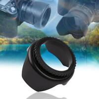 52mm Professional Flower Petal Screw Mount Camera Lens Hood fr Cannon Nikon Sony