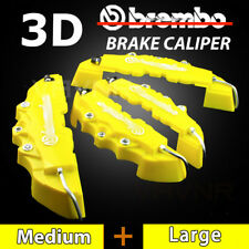 4pcs Yellow Disc Brake Caliper Cover Kit For Mercedes-Benz AMG CLS SL C200 C300