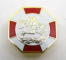 Masonic Preceptory Knights Templar Enamel Lapel Pin Badge in Gift Pouch