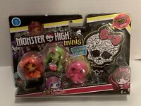 Monster High Minis 3-Pack TORALEI VENUS & Exclusive DRACULAURA 2015 Mattel