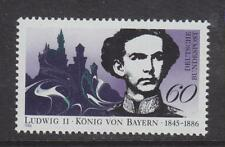 1986 WEST GERMANY MNH STAMP DEUTSCHE BUNDESPOST  KING LUDWIG II  SG 2127