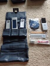 Vintage Pan Am American Rare Toiletry Kit Bag Complete Contents Unused Paco V1