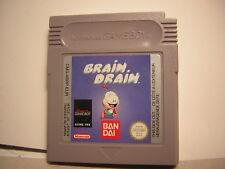 nintendo game boy BRAIN DRAIN     advance GBA