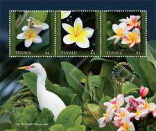 Tuvalu 2019 Plumeria flower I201901
