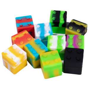 9ml NonStick Silicone Jar box container mixed color