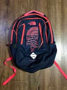 The North Face Wasatch Backpack Men Women Unisex Blue/Pink Laptop Bag