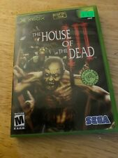 House of the Dead III (Microsoft Xbox, 2002) Complete. Tested