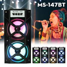 bluetooth Speaker System Party Portable Floor DJ Equipment Sound Karaoke USB